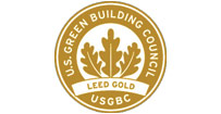 US Green Building Council LEED Gold logo